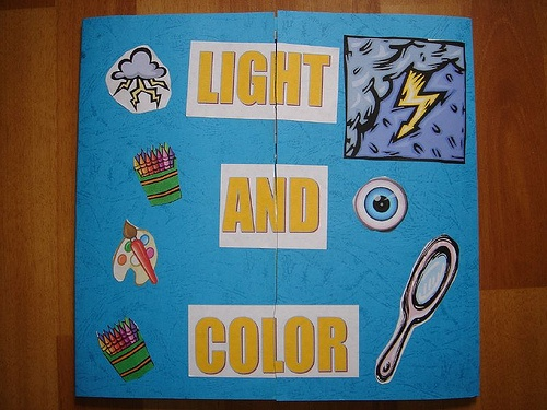 Light and Color Lapbook | Homeschool Families Blog