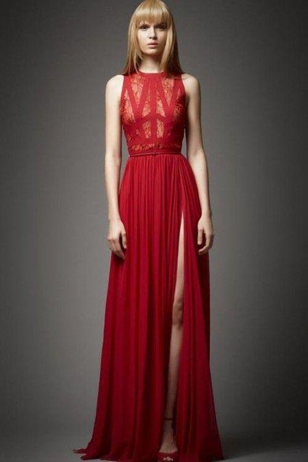 Elie Saab - Red dress    -->>>♥ ♥ Please feel free to repin ♥♥  www.fashionandclothingblog.com