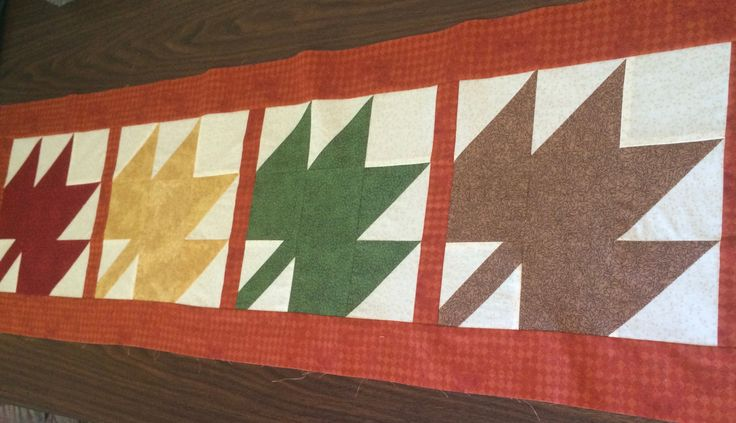 My first quilting project. I was hooked from the first seam.
