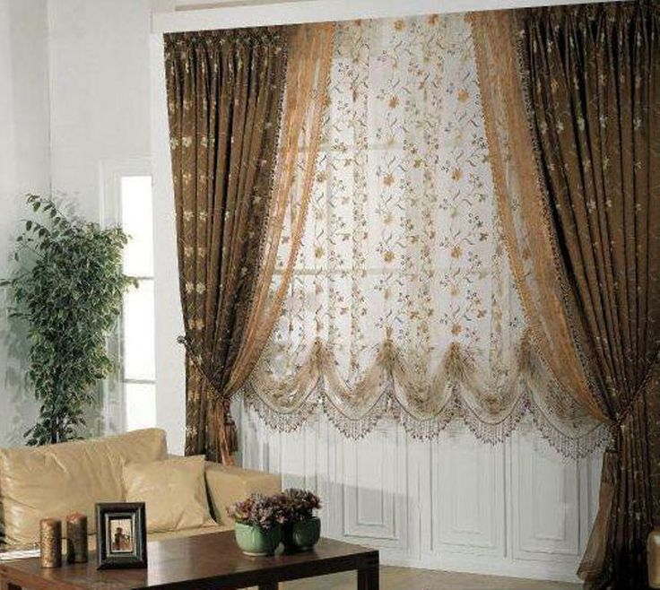 living room window valance ideas%0A Modern blackout curtains with floral patterned shade  living room blackout  curtains