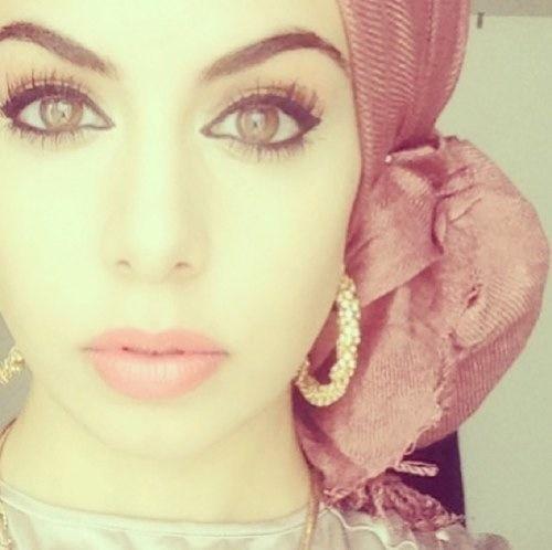 Esmeralda inspired side turban hijab