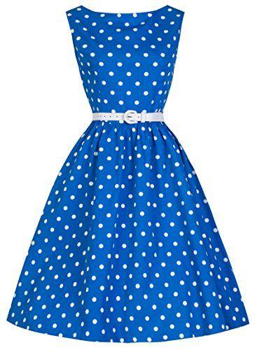 Lindy Bop Classy Vintage Audrey Hepburn Style 1950's Rockabilly Swing Evening Dress (3XL, Blue) Lindy Bop http://www.amazon.com/dp/B00DEK08QY/ref=cm_sw_r_pi_dp_V1T5tb00V7Z0H