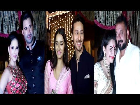 Bollywood celebs at Aamir Khan's house for Diwali party 2016.
