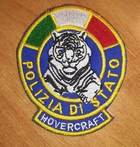 Patch Polizia di Stato Hovercraft -  BLU con Tricolore Verde Bianco Rosso Nuovo | eBay