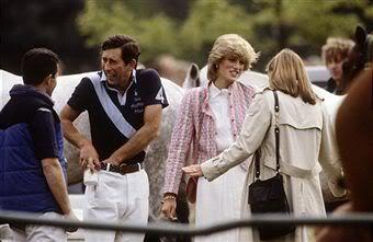 May 29, 1983: Prince Charles & Princess Diana at a polo match at Smith's Lawn, Windsor.