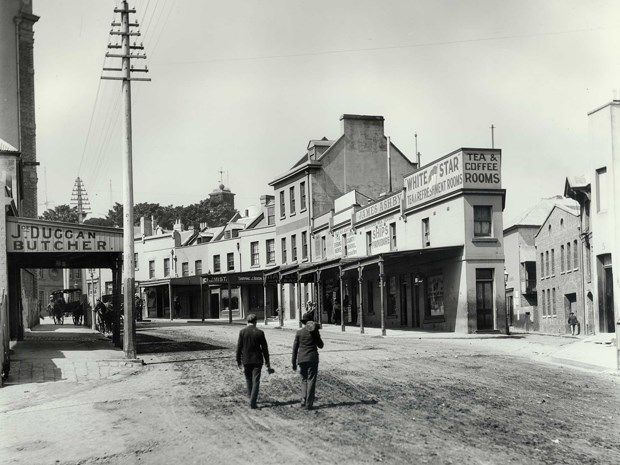 1901 - Argyle Street in The Rocks.