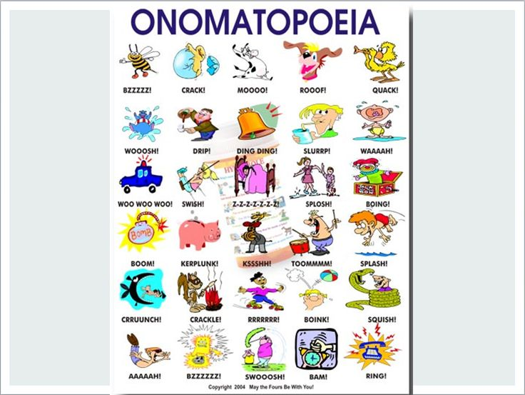 25 best images about onomatopoeia on Pinterest : Anchor ...