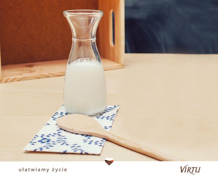 #UłatwiamyŻycie: Co zrobić, by mleko podczas gotowania nie wykipiało? Nie musicie go cały czas pilnować! Wystarczy, że na dwóch krawędziach garnka położycie drewnianą łyżkę.:) #Virtu #lifehack
