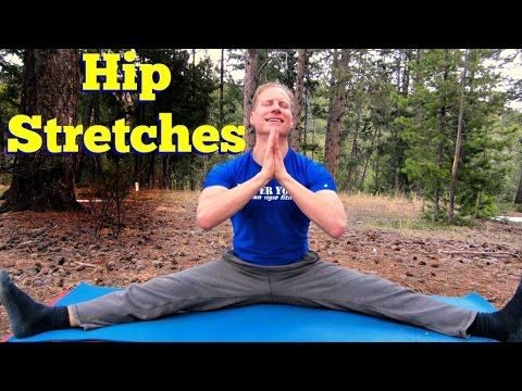 BEST Hip Stretches for Amazing Flexibility - 15 Min Full Body Yoga Stretching Routine - YouTube