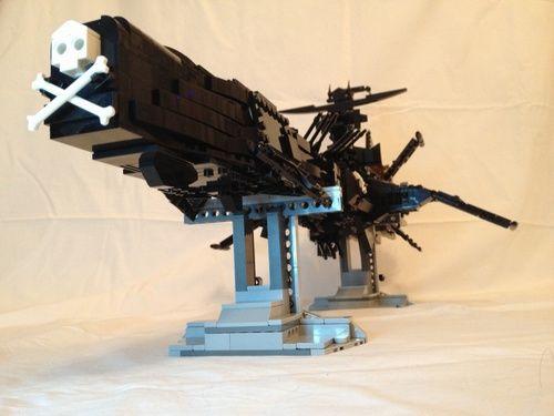 arcadia atlantis albator captain harlock spaceship a lego creation by didier b. Black Bedroom Furniture Sets. Home Design Ideas