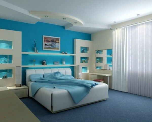 Dream bedrooms for black women bedroom dream bedrooms ideas with blue wall color schemes and - Colour for bedrooms for women ...