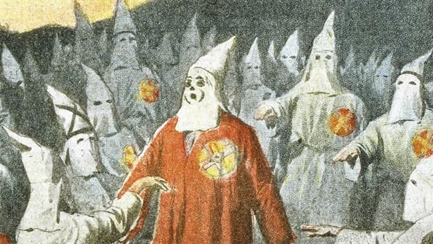 The KKK was NOT republican party. They formed against white republicans standing for black rights.