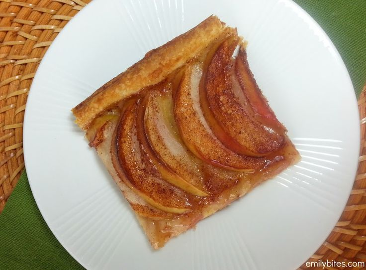Apple Cinnamon Tart - all the flavors of Apple Pie for only 115 calories or 4 Weight Watchers SmartPoints a slice!