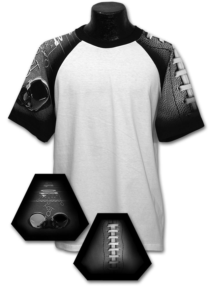 Adult Football Design T Shirt