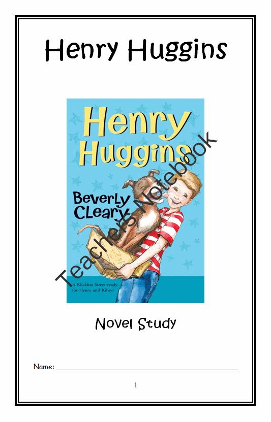 Beverly Cleary Author Study - fisher.k12.il.us