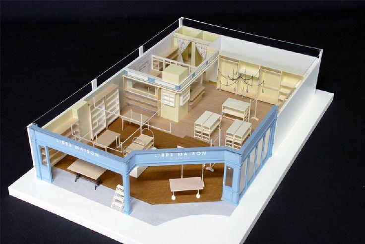 建築・インテリア模型制作 アイスモデル-インテリア模型