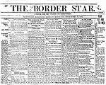 Border Star Newspaper [also Weekly Border Star]