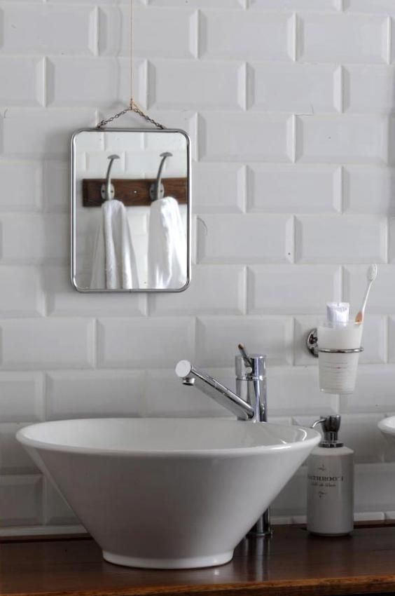 piccolo lavabo da appoggio