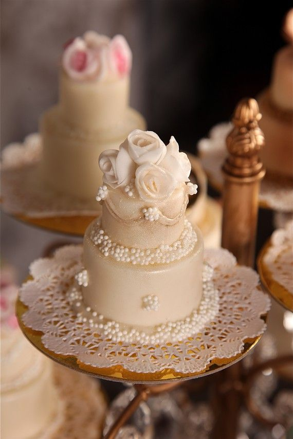 1 Dozen 4 oz Solid Chocolate Mini Wedding by Thelittlecandycakeco, $100.00