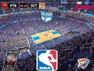 NBA 2016/17: Portland Trail Blazers 126-121 Oklahoma City Thunder
