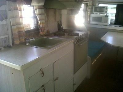 Vintage 1969 Globestar Camper Kitchen I Really Want A