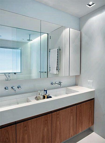#474643 15 best Porcelanosa images on Bathroom Bathroom ideas and Bathrooms decor 450x611 px Banheiro Simples Todo Branco 2018 3801