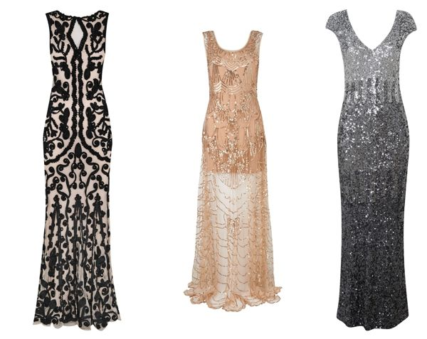 how cool would all the BM's be in these?!?!!!!  great gatsby wedding inspiration