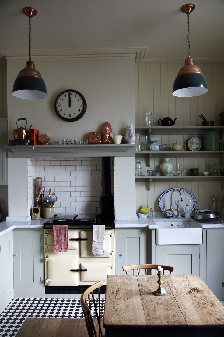 put little cooker/oven in chimney breast (thanks for the idea Lewis)