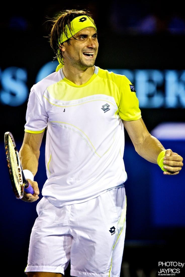 David Ferrer #tennis @jugamostenis  #AO13