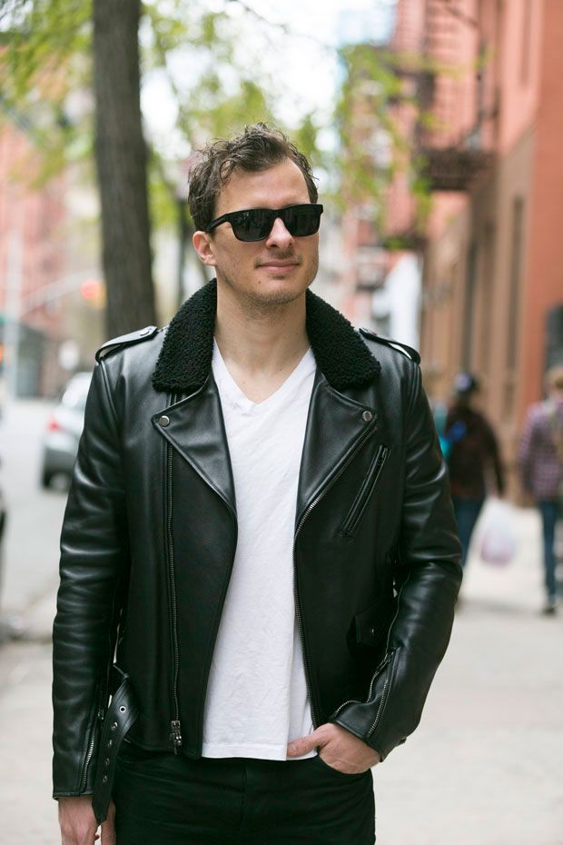 44 best Men's Fashion - Leather Jackets images on Pinterest ...