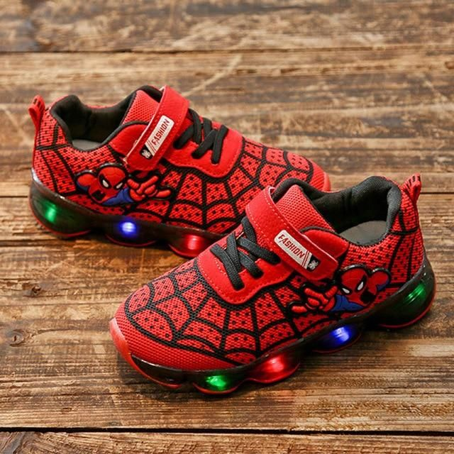 MARVEL Spiderman Light up Boys' Sneaker