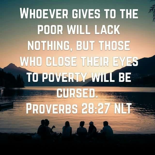 Proverbs 28:27
