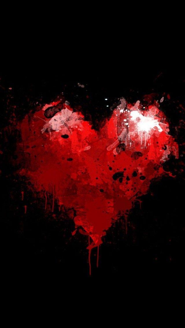 A Broken Heart iPhone 6 Wallpaper Сердце обои, Обои фоны