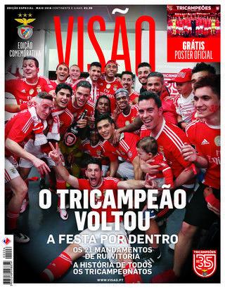 JÁ NAS BANCAS - Edição Especial Benfica Tricampeão