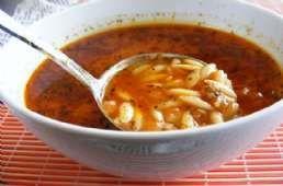 Etli Şehriye Çorbası