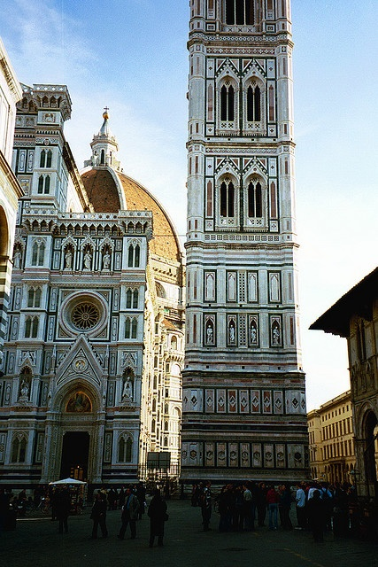 Florence--where else can you see the blowsy beauty of Botticelli's The Birth of Venus AND the pure perfection of Michelangelo's David?