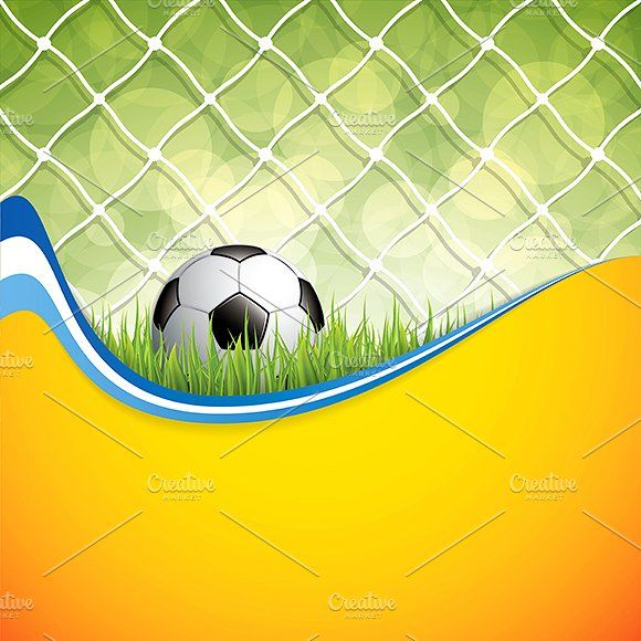 Soccer background by gigello on @creativemarket