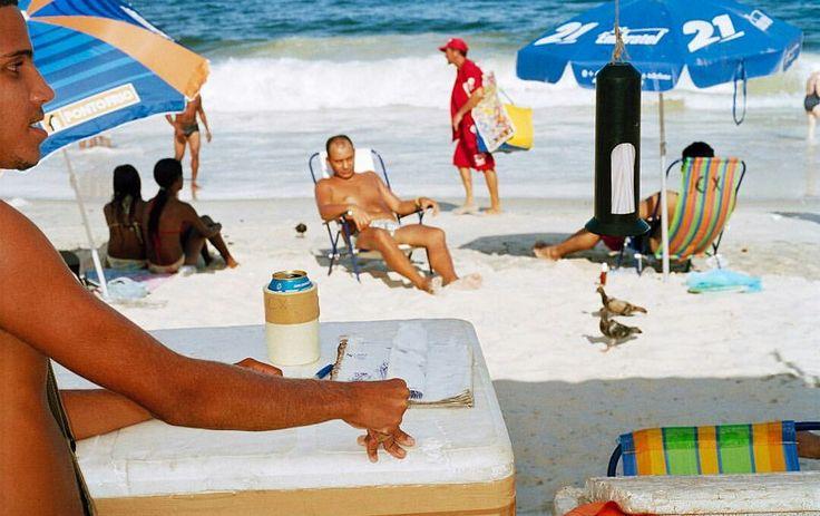 Martin Parr, Copacabana beach, Rio de Janeiro, Brésil, 2007