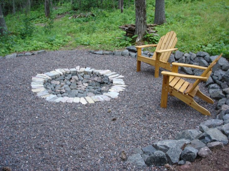 backyard firepit | Backyard, Attractive Outdoor Fire Pit ...