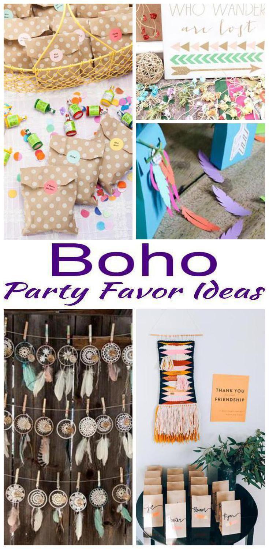 Boho Party Favor Ideas Boho Birthday Party 1st Birthday Party Favors Bohemian Birthday Party