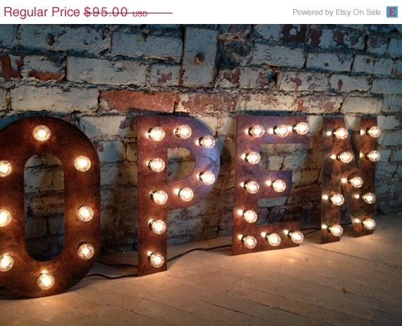 ON Sale Letter A B C D E F G H I J K L M N by WestVintageTradingCo, $75.00