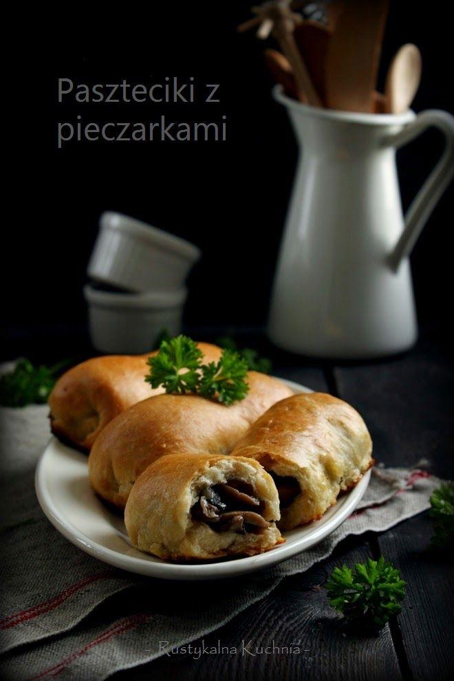 rustykalna kuchnia - cooking at home: Paszteciki z pieczarkami