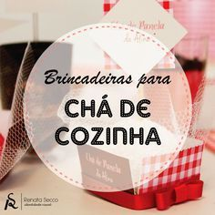 Blog Renata Secco - Identidade Visual: Brincadeiras para Chá de Cozinha/Lingerie
