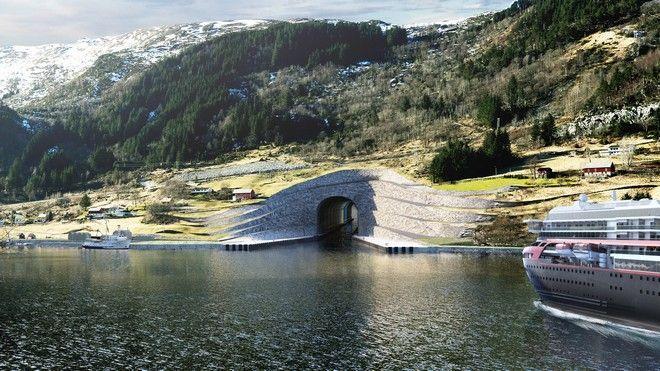 Βίντεο: Η Νορβηγία κατασκευάζει το πρώτο παγκοσμίως, τούνελ για πλοία - Ειδήσεις - NEWS247