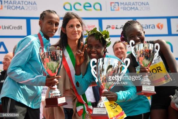 Rahma Tusa from Ethiopia, winn...