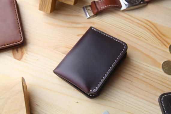 Personalized Mens Leather Wallet Mens Bifold by Manufacturabrand