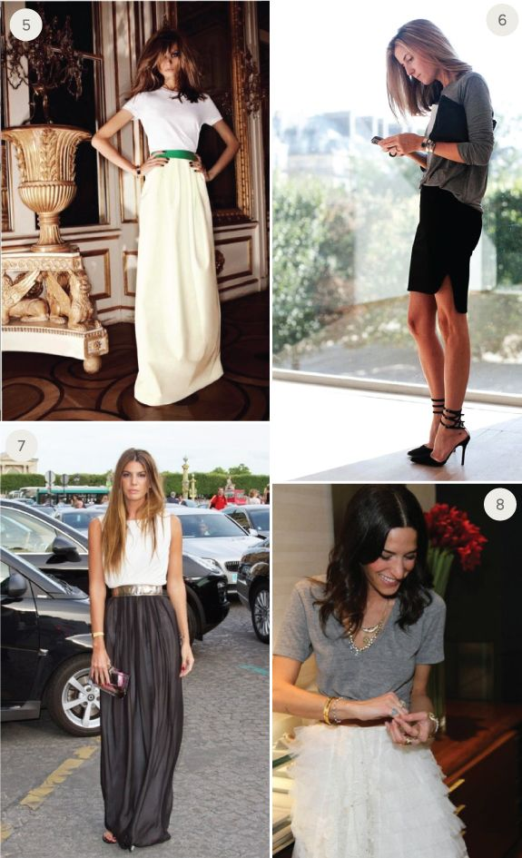 What to wear to a modern urban wedding - Casual but chic wedding outfit - What To Wear to a Wedding: Fancy Skirts and T-Shirts