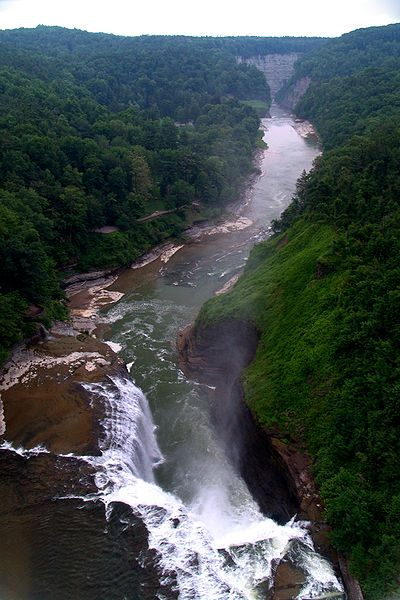 Letchworth State Park in Western New York--my favorite place going.