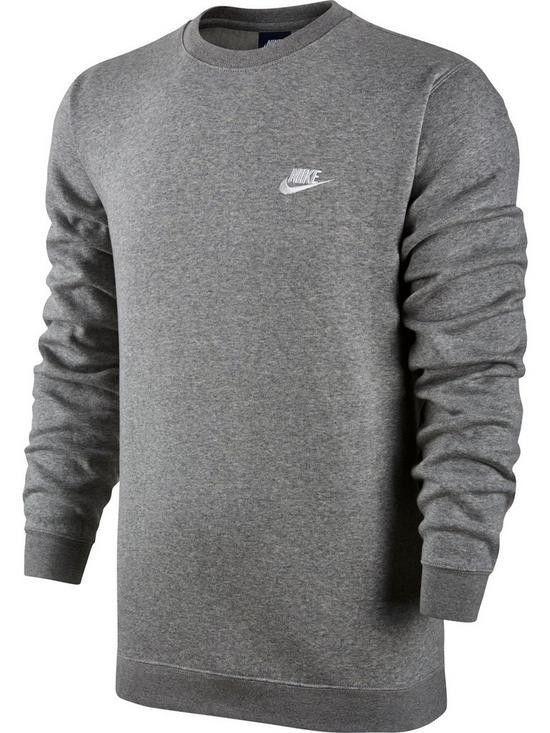f7067c70fe81 Nike Men s Sportswear Crew Fleece Club - New  Nike  Sweatshirt ...