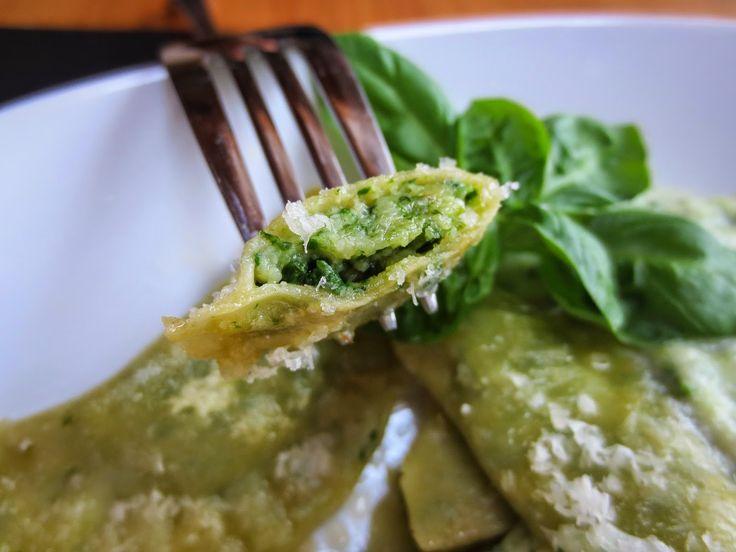 Mino´s handgemachte Ravioli mit Spinat-Käse Füllung | meet-mino